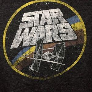 Star Wars Fighter TIE Fighter Tshirt Mens Medium